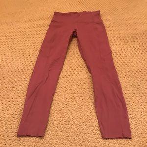 Lululemon fast and free 25 inch leggings